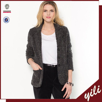 New Design Wool Fashion Woman Blazer Jacket Winter 2014