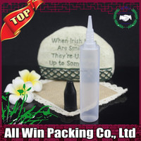 30ml pen e liquid bottle bright black childproof cap plastic PE bottle