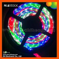 Dimmable cuttable flexible RGB led strip lights 24v 60 leds