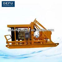 diesel engine driven high flow slurry pump
