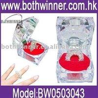 Acupuncture Finger Massager Ring(Steel color)