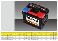 JIS 12V36AH-220AH car battery brand for car and truck starting