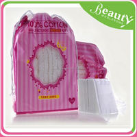 NK101 flower embossing square cotton pad