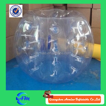 Clear giant inflatable soccer ball, inflatable human ball inflatable ball suit for sale