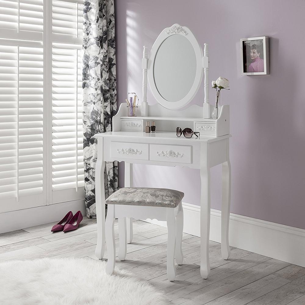Зеркало, Мебель Для Спальни Дерева Косметическое Зеркало Для Макияжа Таблица Профессиональный