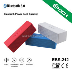 2015 new mini bluetooth speakers subwoofer with MP3 popular in USA