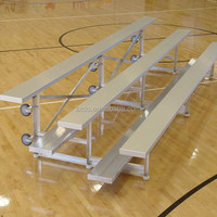Indoor or outdoor use portable aluminum grandstands