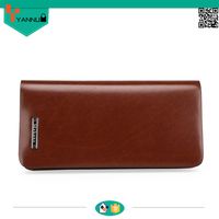 high quality large capacity multifunctional old fashion wallets with clear pockets