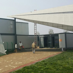 Storm-Proof Prefabricated Prefabricated 40Ft Top Build Container House