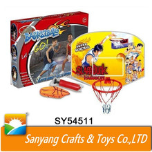 Wholesale kids mini basketball toys plastic basketball backboard