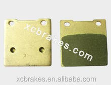 direct factory offering sintered copper Motorcycle &ATV brake pad suitble for KAWASAKI Z 250 A1/A2/A3