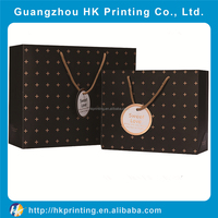 Custom paper material extra large shopping bag with logo