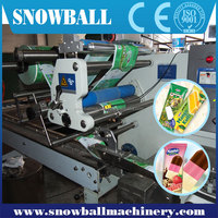 Customized Automatic 6 wide Ice Cream stick Packing System/Packing equipment