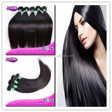 Guangzhou 12-30inch no tangling straight AAAAAA grade100% unprocessan hair wig, brazilian hair weave