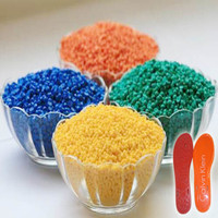 Colorful PVC Granule Material for shoe outsole Raw material