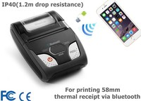 "2"" mini wireless mobile thermal pocket restaurant printer WSP-R240"