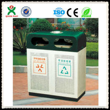 2013 High quality multipurpose recycle bin/stainless steel garbage can/stainless steel trash can QX-11141A