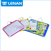 Cartoon magnetic dry wipe surface with full color offset printing for kids erasable drawing white board writing slate board
