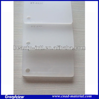 extrdued plastic frosted panel