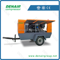 diesel engine driven air compressor portable