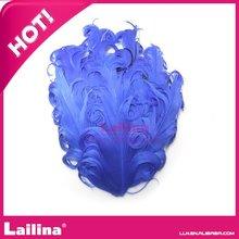 caliente venta de hecho a mano azul pluma esterasdecoches venta al por mayor de cualquier color
