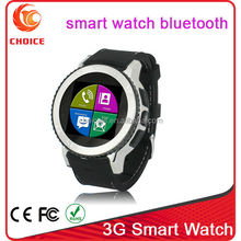 low cost watch mobile phone with hidden camera and bluetooth wifi factory