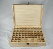 Fashion essential oil perfume packing wooden box