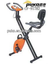 foldable magnetic exercise bike gymnastic bicycle with backrest