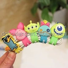 Various cartoon shape Cable Organizer /Silicone Earphone cable Winder