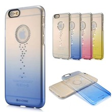 2015 new arrival ultra thin mobile phone colorful cases clear dustproof case for iphone 5.5'' transparent
