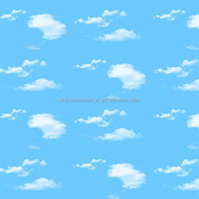 Hot sale wallpaper for children with the cloud pattern