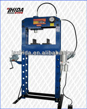 40 ton Hydraulic Pneumatic shop press with gauge and movable ram