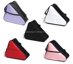 Ice Skate Roller Skate Bag Black Fits Small-Medium Skates Black Red Pink White