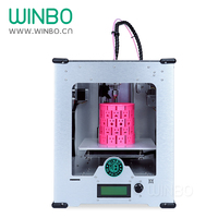 WINBO Mini 3D Printer Build Size 205*155*155 mm Only USD599 Most Practical Desktop 3D Printer for Sale