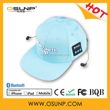 2015 Newest design Bluetooth baseball cap---best choice for Golf sports
