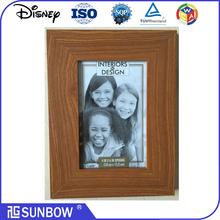 "4*6"" Wholesale Vintage wooden photo frame/MDF picture photo frame"