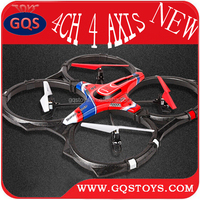 New 2.4G 4CH Big Foam 4 Axis RC Quadcopter Toys Syma X6 with LCD Screen