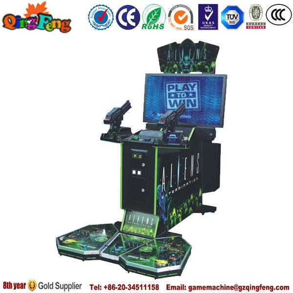 Simulator shooting gun