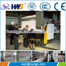 Wc67y-40t/2500 diaplay digital prensa hidráulica del freno para 2 mm de chapa de acero