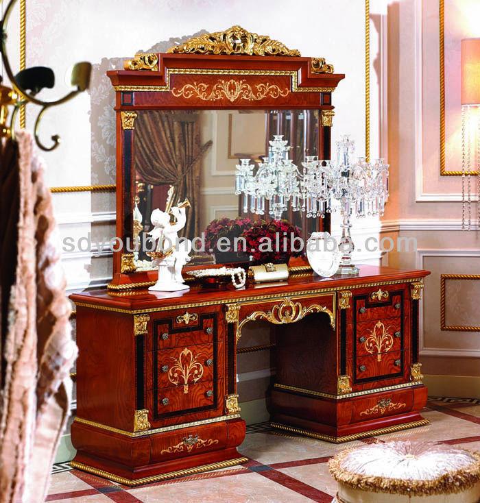 2015 0038 vanità antico camera da letto comò con specchio-Cassettone-Id prodotto:1685506433 ...