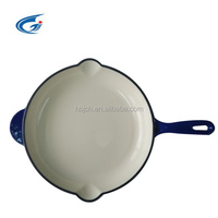 frying pan enamel cast iron wholesale frying pan