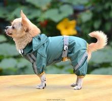 high qualited raincoat dog apparel pet coat waterproof dog coat