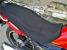 3D Air Mesh Fabric Motorcycle Seat Cover for Motocross