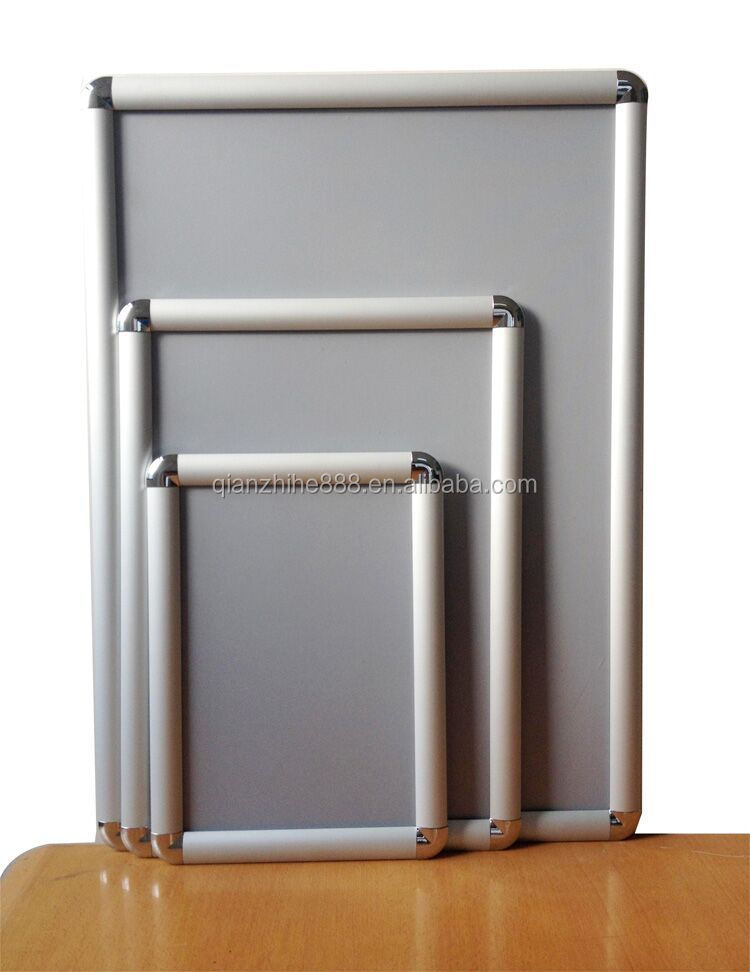 A0a1a2a3a4a5 aluminum poster frame wall mounted easy front for Photo clip wall frame