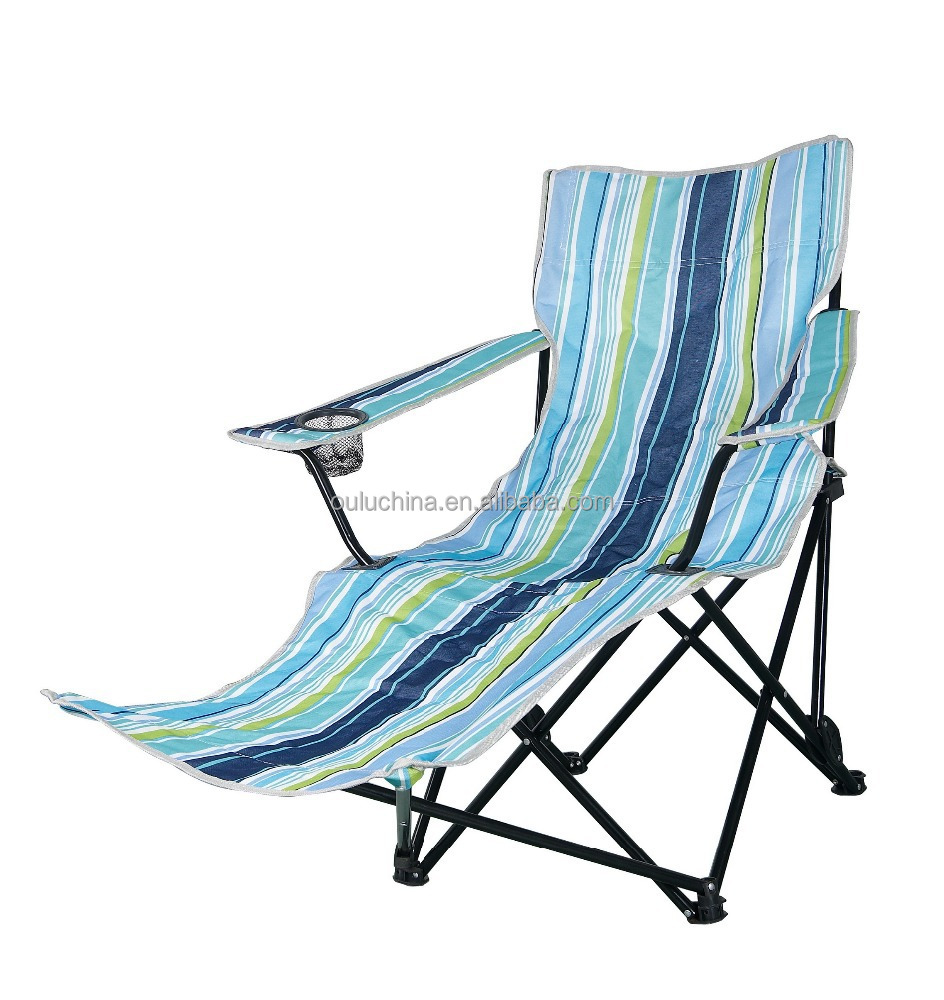 Folding Beach Chair With Footrest Buy Outdoor Folding