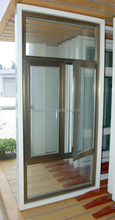 Aluminum door/window made by Tempered Laminated glass with CE ISO CSI certificate