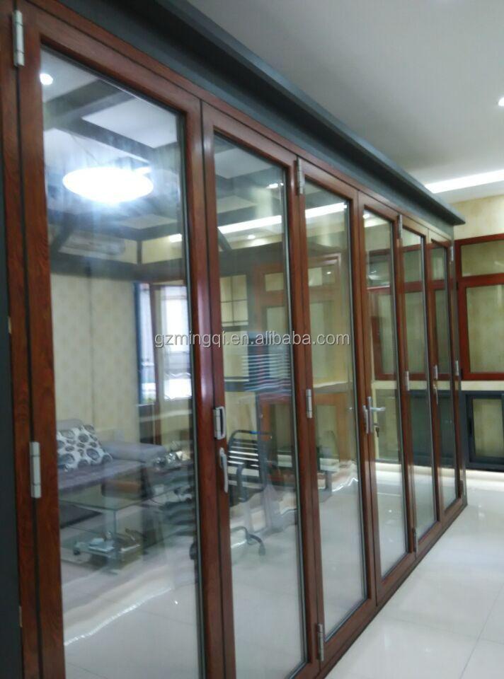 Large Aluminum Glass Sliding Folding Doors View Aluminum