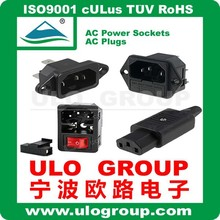 Supply Widely Used AC Power Sockets For 025 From ULO