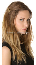 Wedding Party Bride Leaf Hair Pins,Woman Hair Clips,European and American Fashion Alloy Casting Hairpin