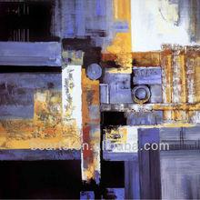 Hecho a mano abstracto pintura al óleo, de alta calidad de la familia del hotel decoración arte de la pared pintura